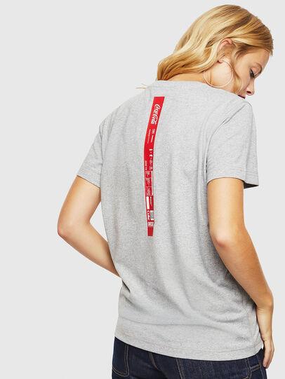 Diesel - CC-T-DIEGO-COLA, Gris - Camisetas - Image 4