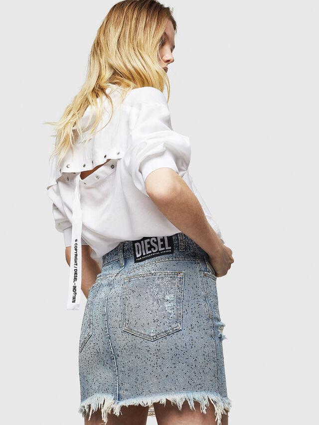 Diesel - DE-ELLE-S, Blue Jeans - Faldas - Image 5