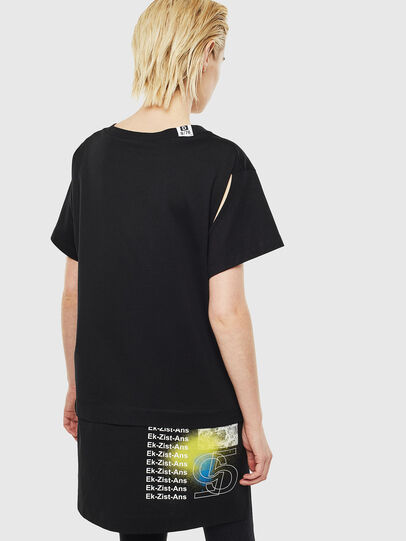 Diesel - T-SHALIE, Negro - Camisetas - Image 2