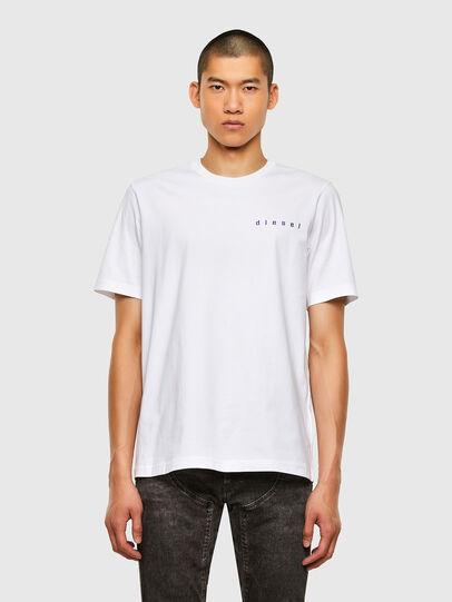 Diesel - T-JUST-N44, Blanco - Camisetas - Image 1
