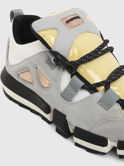 Diesel - H-PADOLA SL W, Gris/Blanco - Sneakers - Image 5