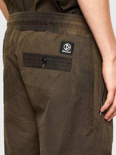 Diesel - P-HILL, Verde Militar - Pantalones - Image 3