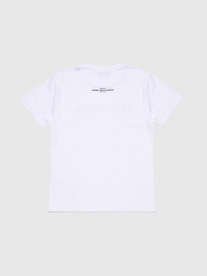 Diesel - TJFLAVIAY, Blanco - Camisetas y Tops - Image 2