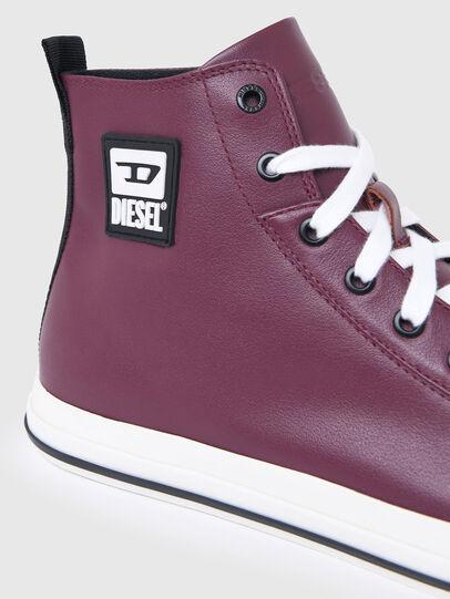 Diesel - S-ASTICO MID CUT, Violeta Oscuro - Sneakers - Image 4