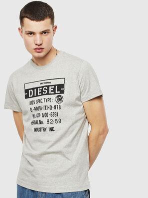 T-DIEGO-S1, Gris - Camisetas
