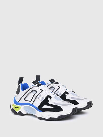 Diesel - S-KIPPER LOW TREK II, Blanco/Negro - Sneakers - Image 2