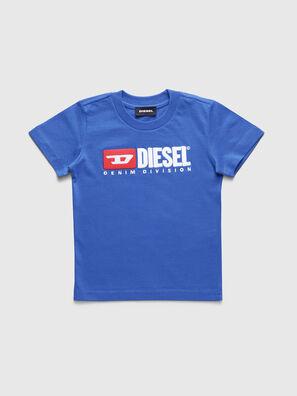 TJUSTDIVISIONB-R, Cerúleo - Camisetas y Tops