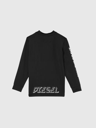Diesel - TAPRESBR-SKI, Negro - Camisetas y Tops - Image 2