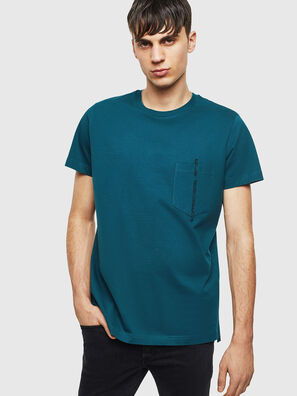 T-RUBIN-POCKET-J1, Verde Oscuro - Camisetas