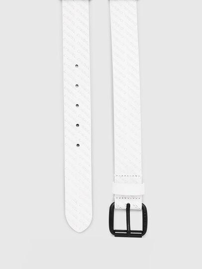 Diesel - B-SOLESINO, Blanco - Cinturones - Image 3