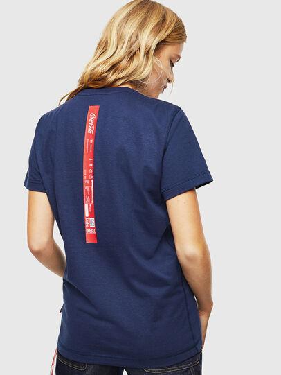 Diesel - CC-T-DIEGO-COLA, Azul Oscuro - Camisetas - Image 4