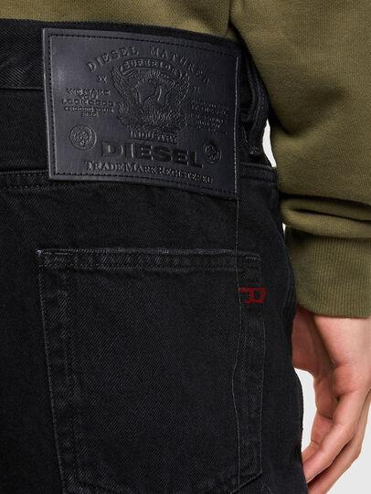 Diesel - D-STRUKT-SHORT, Negro - Shorts - Image 4