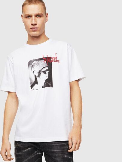 Diesel - T-JUST-J21, Blanco - Camisetas - Image 1