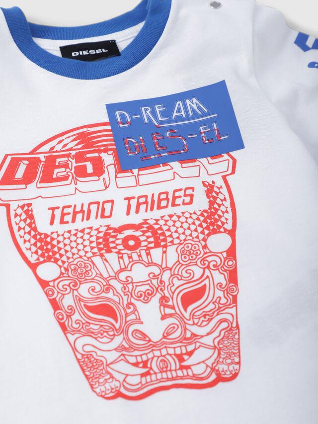 Diesel - TENNUB, Blanco/Rojo/Azul - Camisetas y Tops - Image 3
