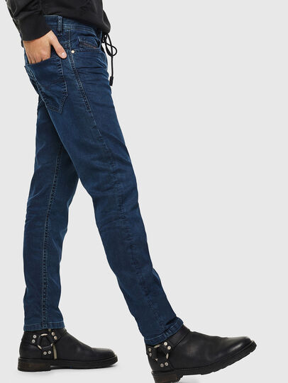 Diesel - Thommer JoggJeans 0688J, Azul Oscuro - Vaqueros - Image 5