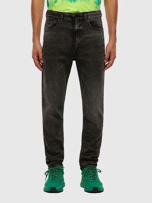 D-Vider JoggJeans 009FZ, Negro/Gris oscuro - Vaqueros