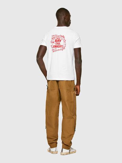 Diesel - T-DIEGOS-K15, Blanco - Camisetas - Image 4