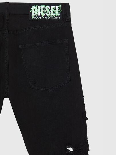 Diesel - D-KRASY, Negro - Shorts - Image 4
