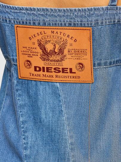 Diesel - DE-ARYA-SP, Azul medio - Vestidos - Image 3