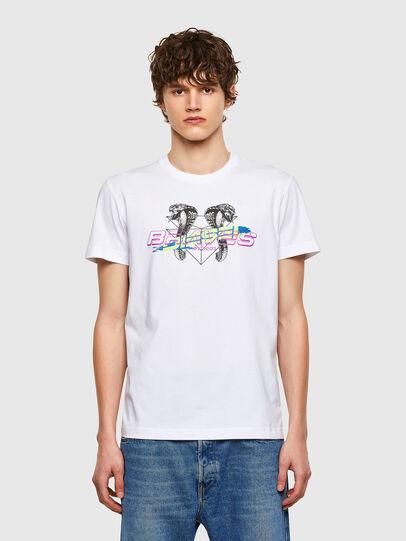 Diesel - T-DIEGOS-E35, Blanco - Camisetas - Image 1
