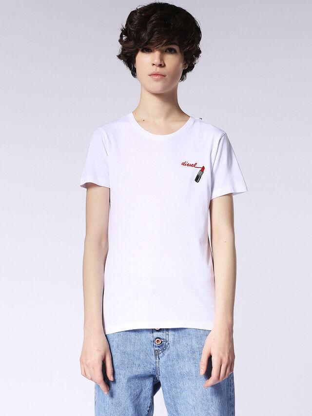 Diesel - T-SILY-F, Blanco - Camisetas - Image 2