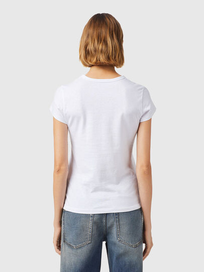 Diesel - T-SLICUP-B3, Blanco - Camisetas - Image 2