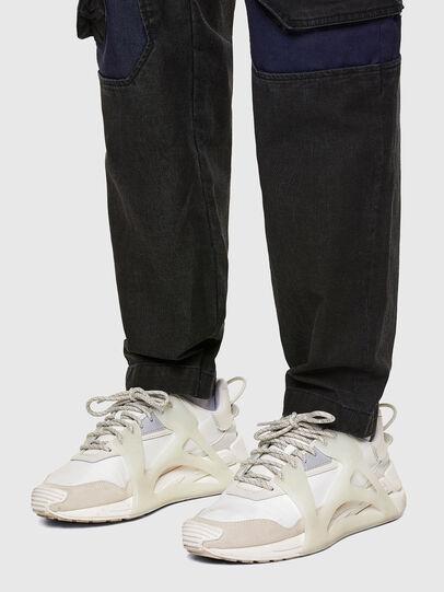 Diesel - D-Eluxerr JoggJeans® 0DDAV, Negro/Gris oscuro - Vaqueros - Image 5
