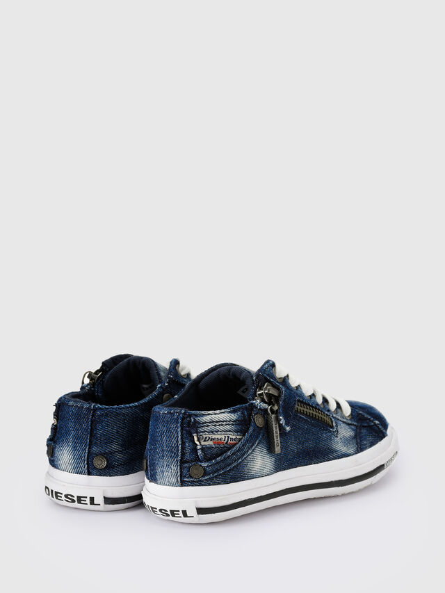 Diesel - SN LOW 25 DENIM EXPO, Blue Jeans - Calzado - Image 3