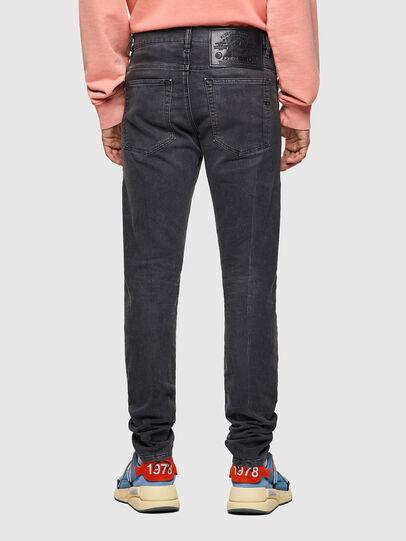 Diesel - D-Amny JoggJeans® 09A74, Negro/Gris oscuro - Vaqueros - Image 2