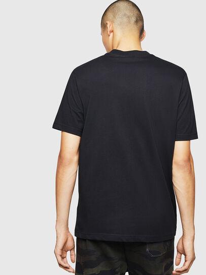 Diesel - T-JUST-B25, Negro - Camisetas - Image 2