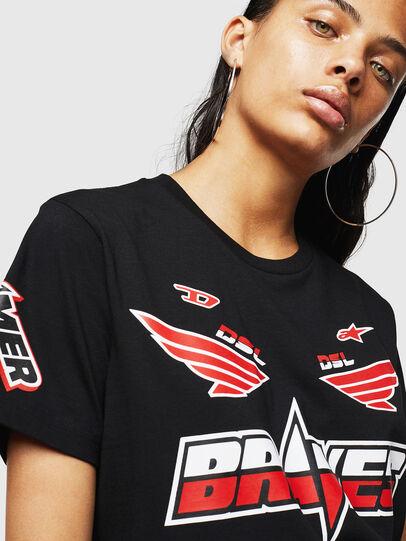 Diesel - ASTARS-T-DIEGO-FL, Negro - Camisetas - Image 3