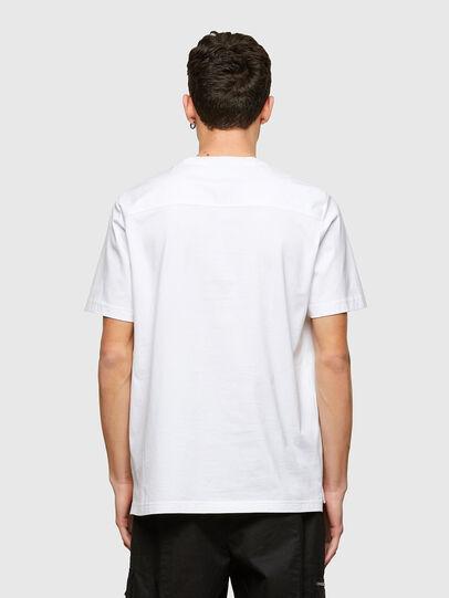 Diesel - T-WORKAN, Blanco - Camisetas - Image 2