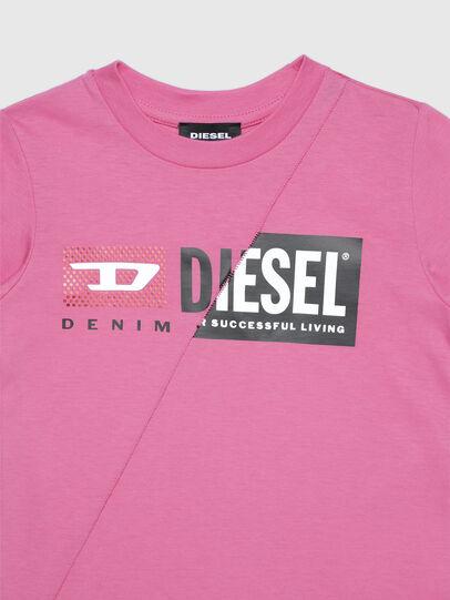 Diesel - TDIEGOCUTYB-FL ML-R, Rosa - Camisetas y Tops - Image 3
