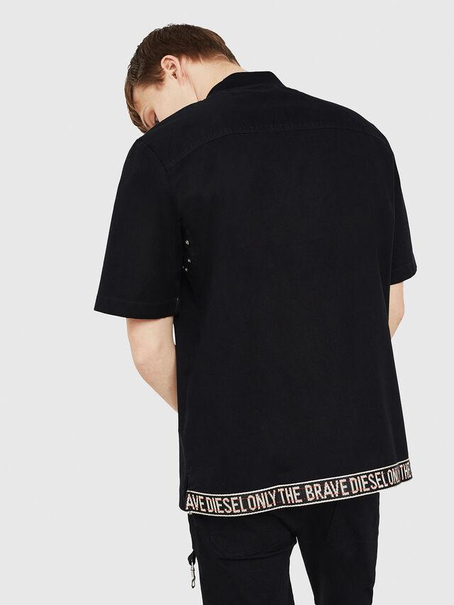 Diesel - S-DRINA, Negro - Camisas - Image 2