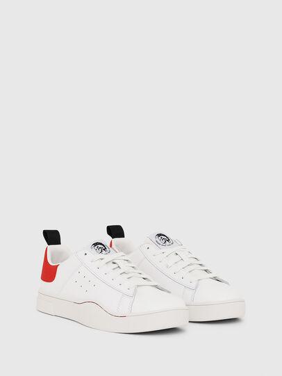 Diesel - S-CLEVER LOW, Blanco/Rojo - Sneakers - Image 2