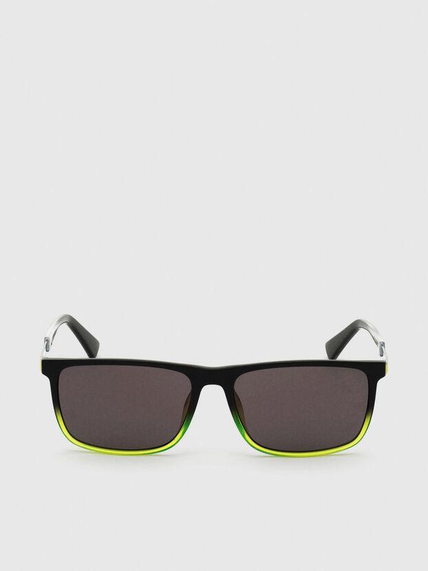 DL0312, Negro/Amarillo - Gafas de sol
