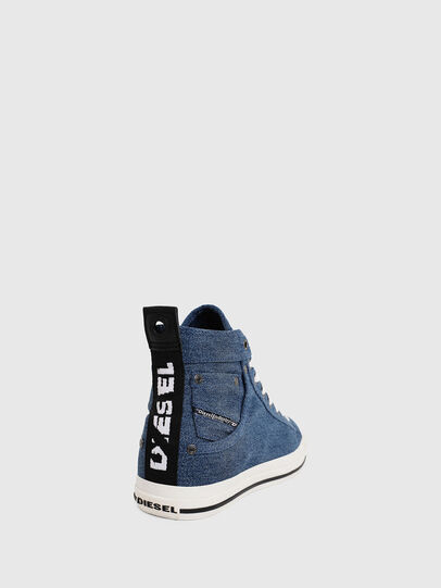 Diesel - EXPOSURE I, Blue Jeans - Sneakers - Image 4