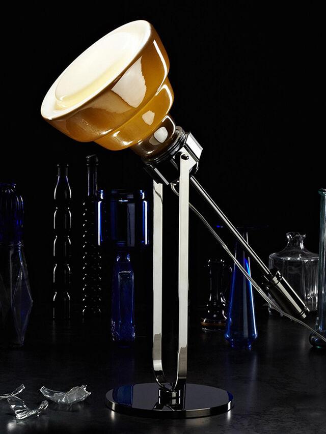 Diesel - GLAS TAVOLO CROMO, Plata - Lámparas de Sombremesa - Image 2