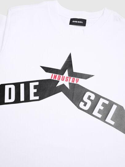 Diesel - TDIEGOA7, Blanco - Camisetas y Tops - Image 3
