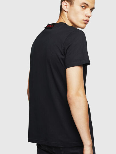 Diesel - LCP-T-DIEGO-MARSELLA, Negro - Camisetas - Image 3