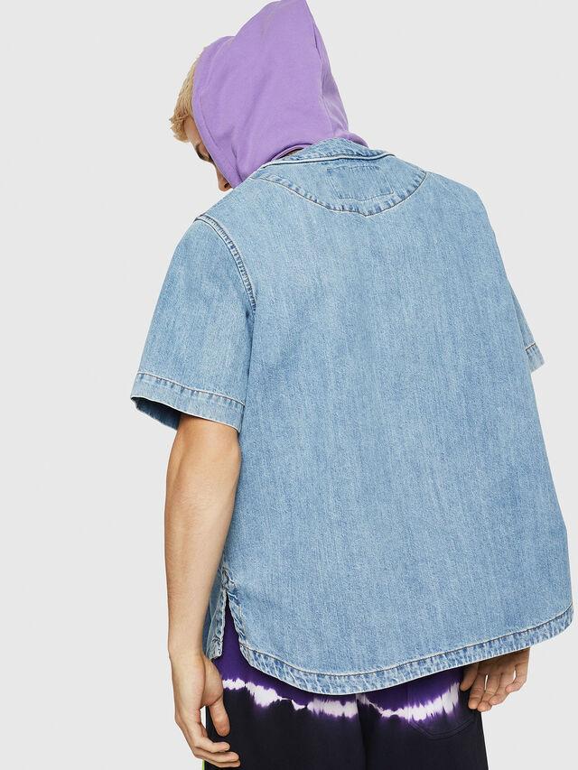 Diesel - D-BOW-J, Blue Jeans - Camisas de Denim - Image 2
