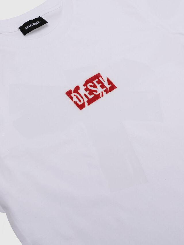 Diesel - TDIEGOSX, Blanco - Camisetas y Tops - Image 3