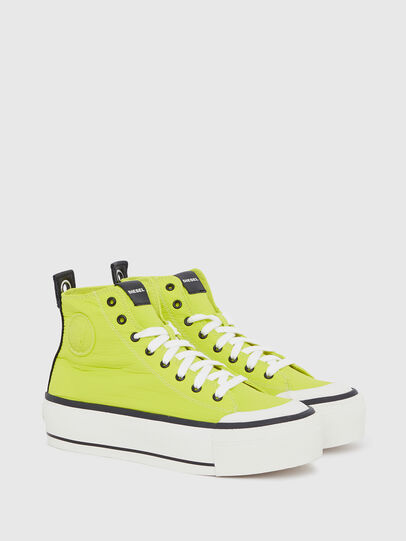 Diesel - S-ASTICO MC WEDGE, Amarillo - Sneakers - Image 2