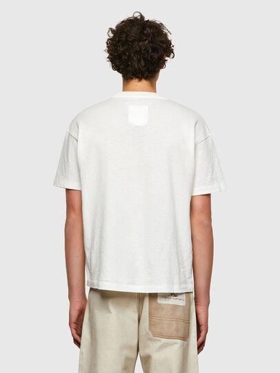 Diesel - DxD-20, Blanco - Camisetas - Image 3