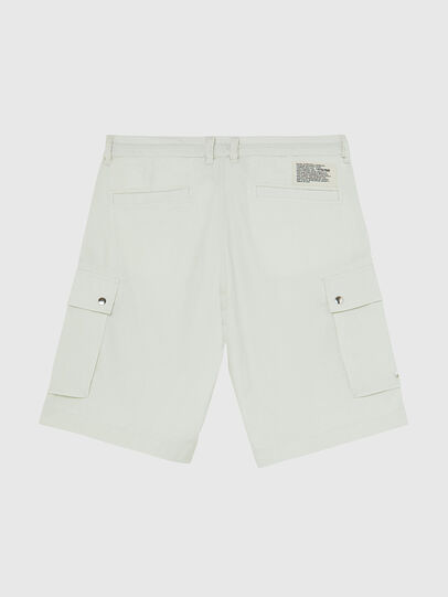 Diesel - P-AIMI-P, Blanco - Shorts - Image 2