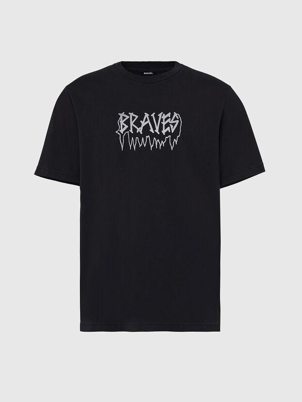 T-JUST-X67, Negro - Camisetas