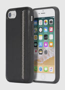 ZIP BLACK LEATHER IPHONE 8/7/6s/6 CASE, Negro - Fundas