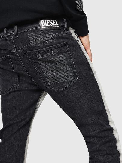 Diesel - Sleenker 082AX, Negro/Gris oscuro - Vaqueros - Image 5