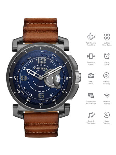 Diesel - DT1003, Marrón - Smartwatches - Image 1