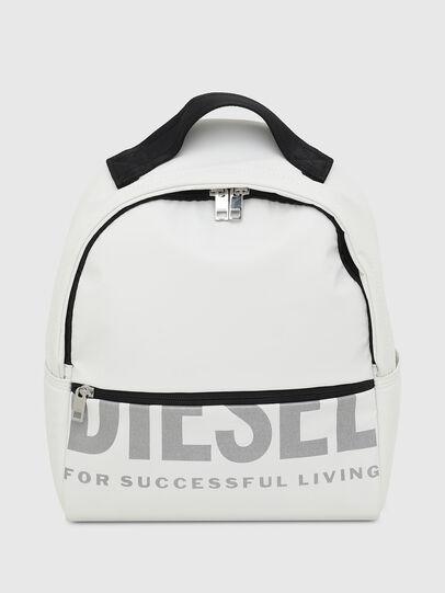 Diesel - F-BOLD BACK FL II, Blanco - Mochilas - Image 1